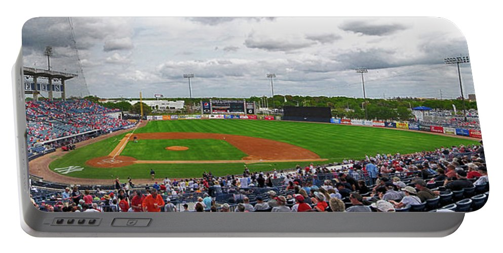 Steinbrenner Field Portable Battery Charger featuring the photograph Steinbrenner Field 2 by C H Apperson