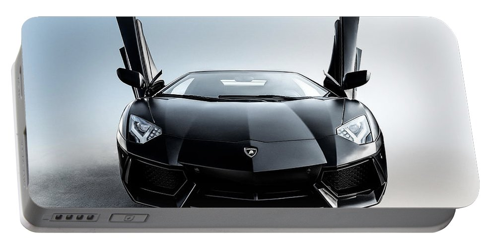 Lamborghini Portable Battery Charger featuring the photograph Stick 'em Up by Douglas Pittman