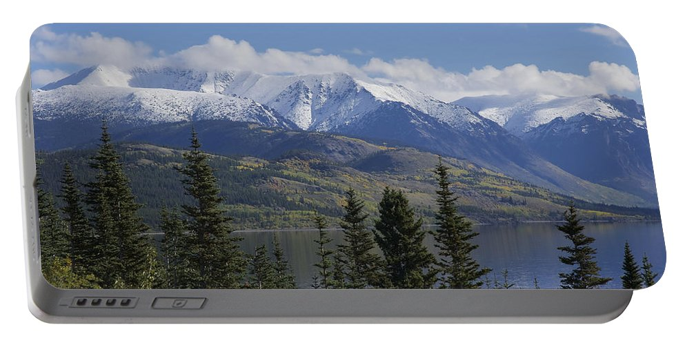 Stikine Mountains Portable Battery Charger featuring the photograph Stikine Mountains 3 by Richard J Cassato