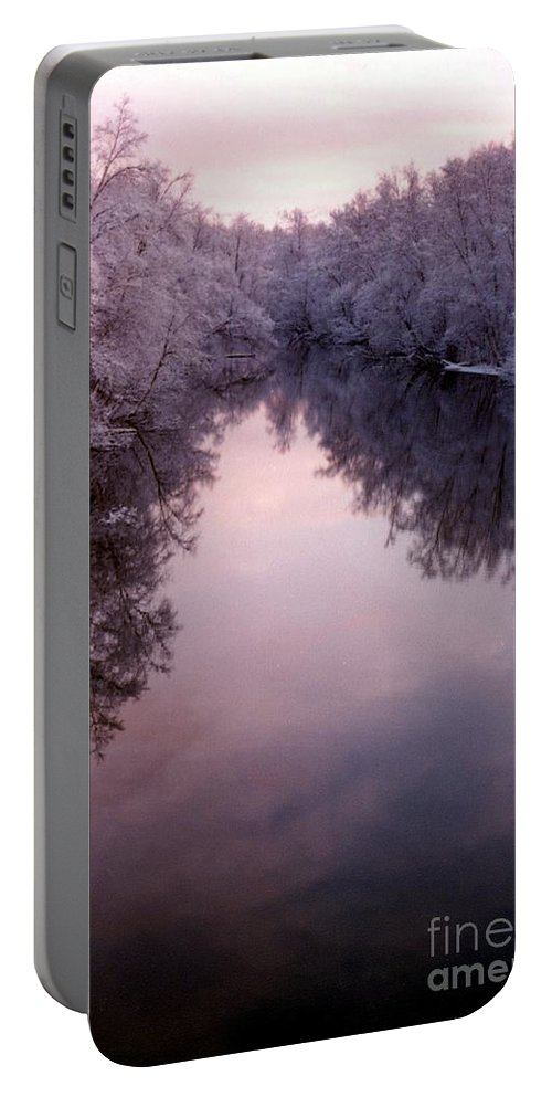 Frost Portable Battery Charger featuring the photograph Still by Ron Bissett