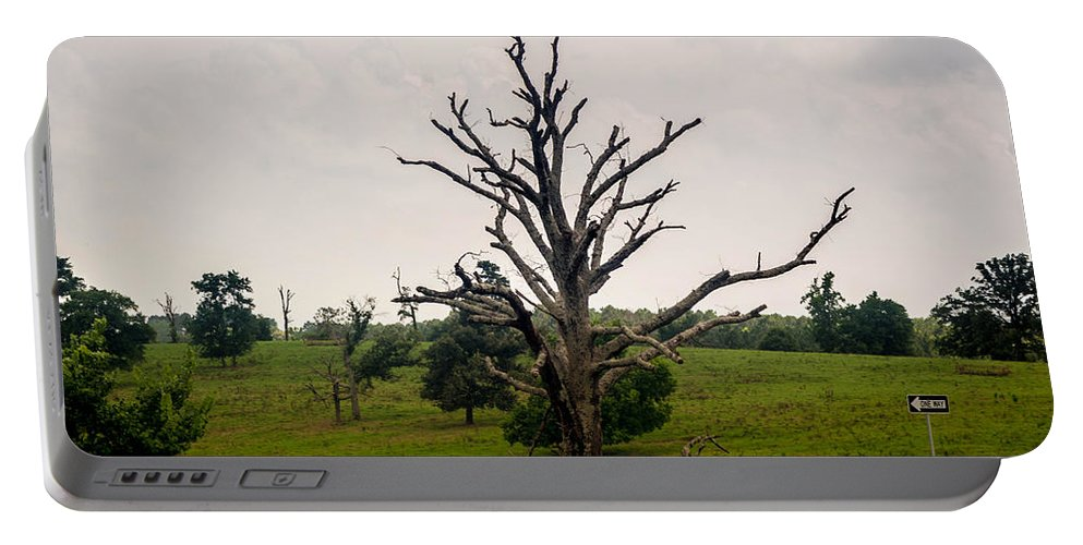 Clakley Portable Battery Charger featuring the photograph Still Standing by Darrell Clakley