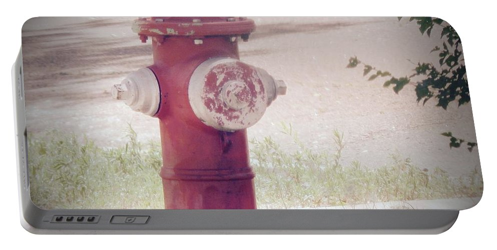 Landscape Portable Battery Charger featuring the photograph Still Standing by Viki Velazquez