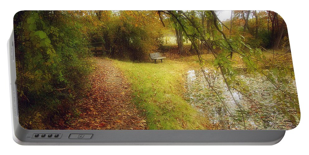 2d Portable Battery Charger featuring the photograph Still Waters by Brian Wallace