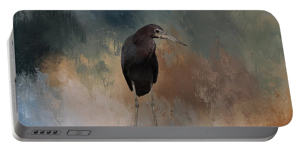 Egret Portable Battery Charger featuring the photograph Stilt Legs by Kim Hojnacki