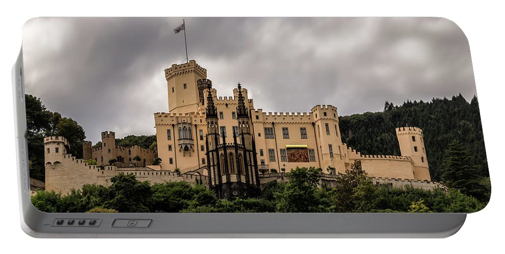 Castle Portable Battery Charger featuring the photograph Stolzenfels Castle by Ronald Kotinsky