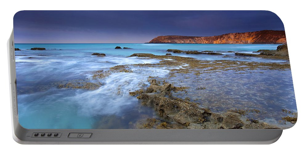 Dawn Portable Battery Charger featuring the photograph Storm Light by Mike Dawson