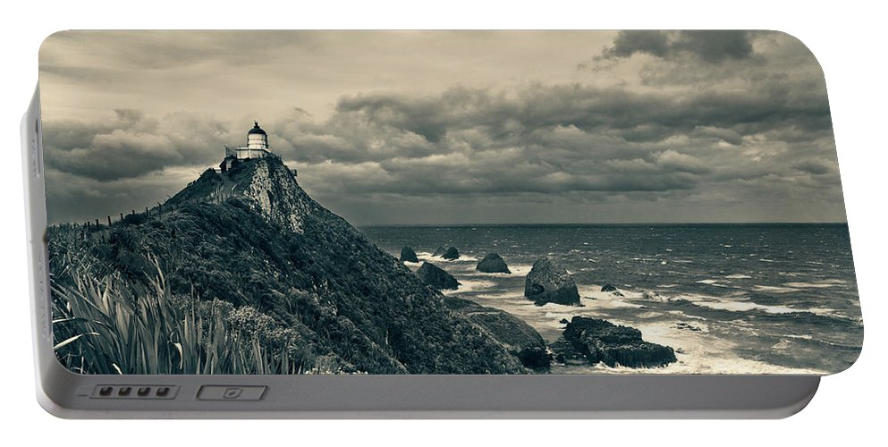 Beach Portable Battery Charger featuring the photograph Stormy Weather by U Schade