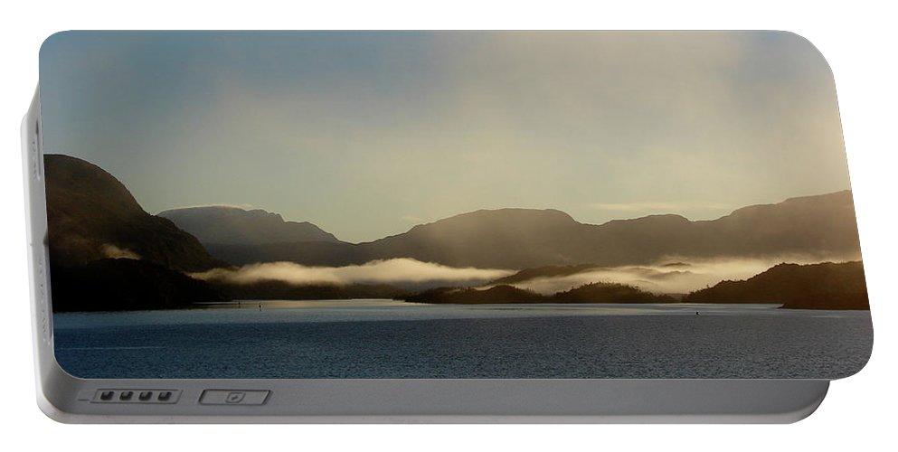 Straits Of Magellan Portable Battery Charger featuring the photograph Straits Of Magellan Vi by Brett Winn