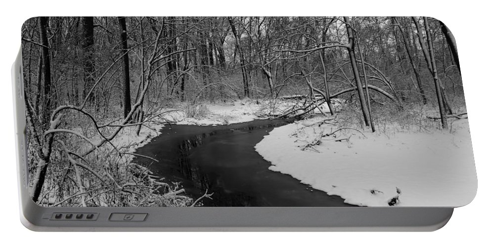 Stream Portable Battery Charger featuring the photograph Stream by Steve Bell