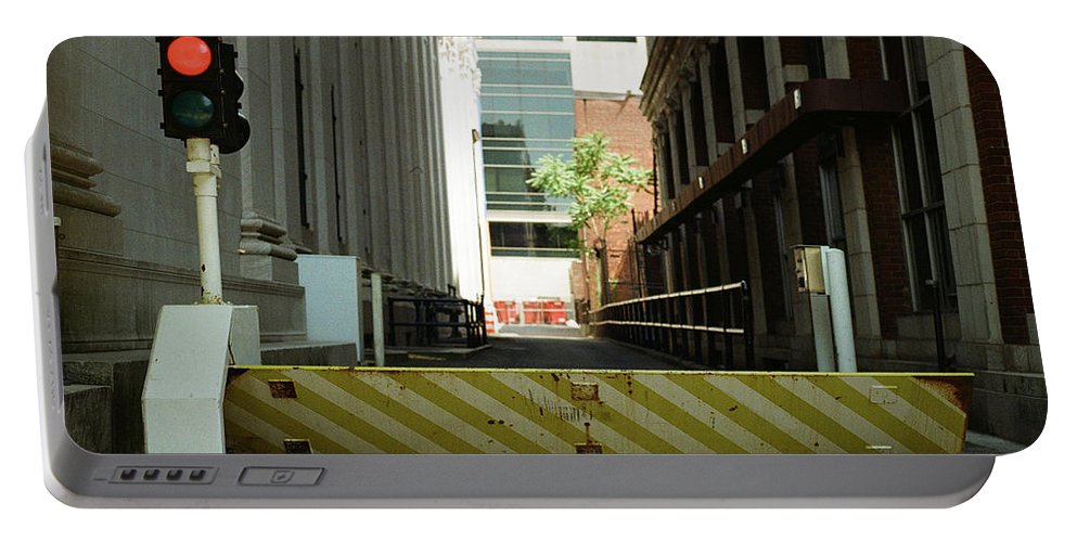 Cityscape Street 35mm Film Street Color Beautiful Portable Battery Charger featuring the photograph Street by Robert Worth