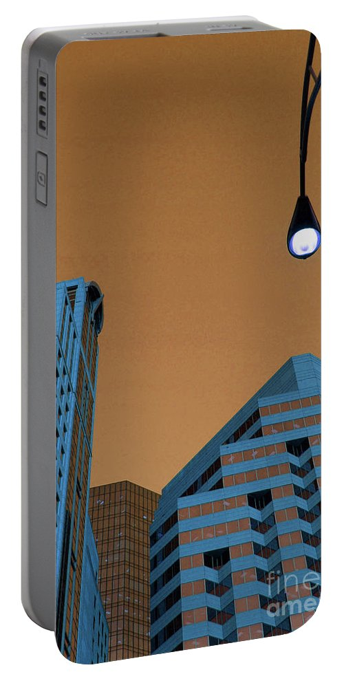 City Portable Battery Charger featuring the photograph Street View by Karol Livote