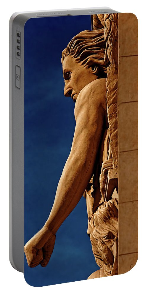 Christopher Holmes Photography Portable Battery Charger featuring the photograph Strength by Christopher Holmes
