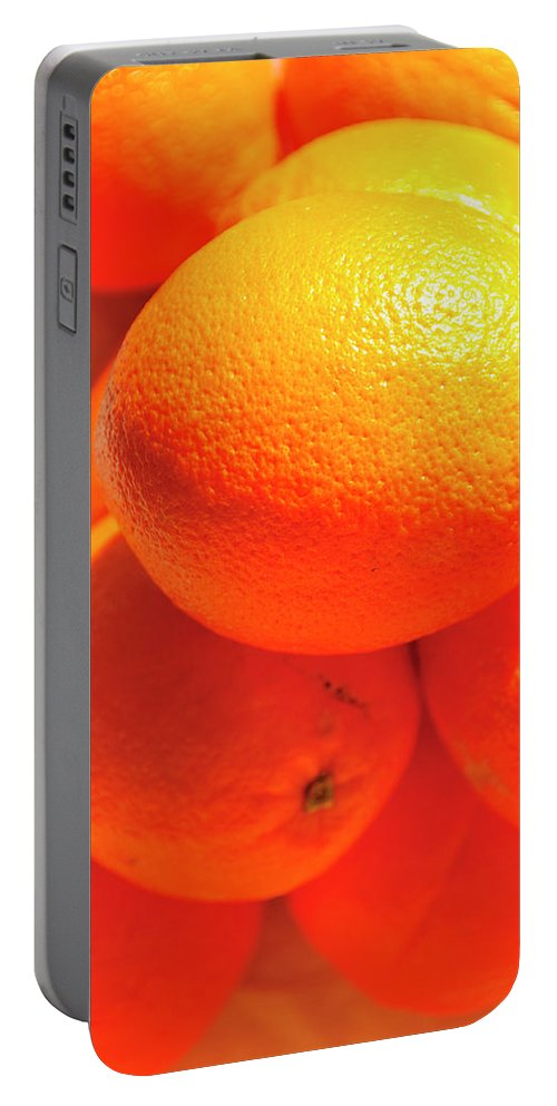 Orange Portable Battery Charger featuring the photograph Study In Orange by David Arment
