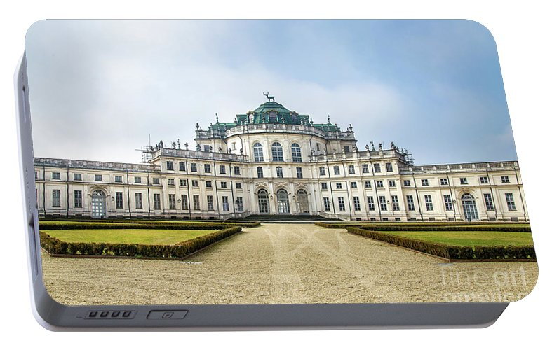 Alfieri Portable Battery Charger featuring the photograph Stupinigi Palace - Turin - Piedmont Italy Region by Luca Lorenzelli