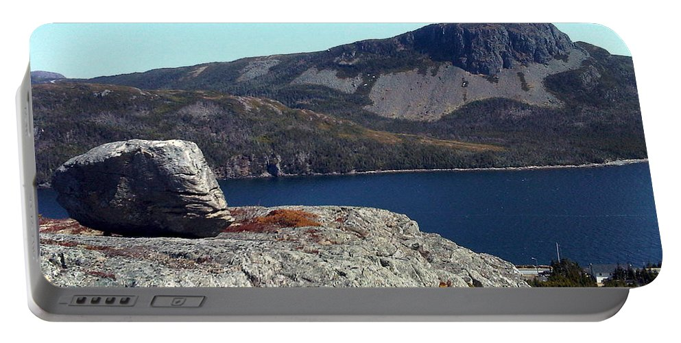 Sugarloaf Hill Portable Battery Charger featuring the photograph Sugarloaf Hill From The Lookout by Barbara Griffin