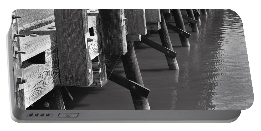 Bridge Portable Battery Charger featuring the photograph Suicide Bridge by Lisa Kleiner