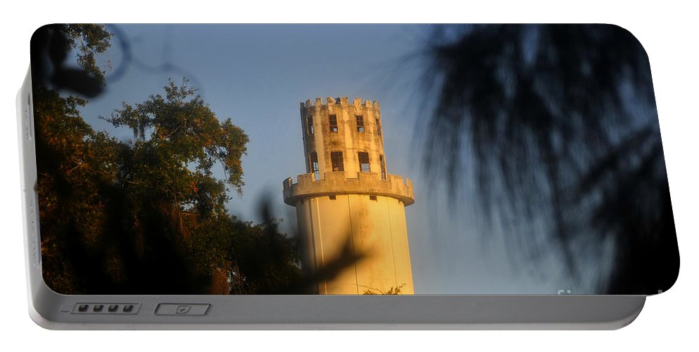 Sulphur Springs Florida Portable Battery Charger featuring the photograph Sulphur Springs Tower by David Lee Thompson