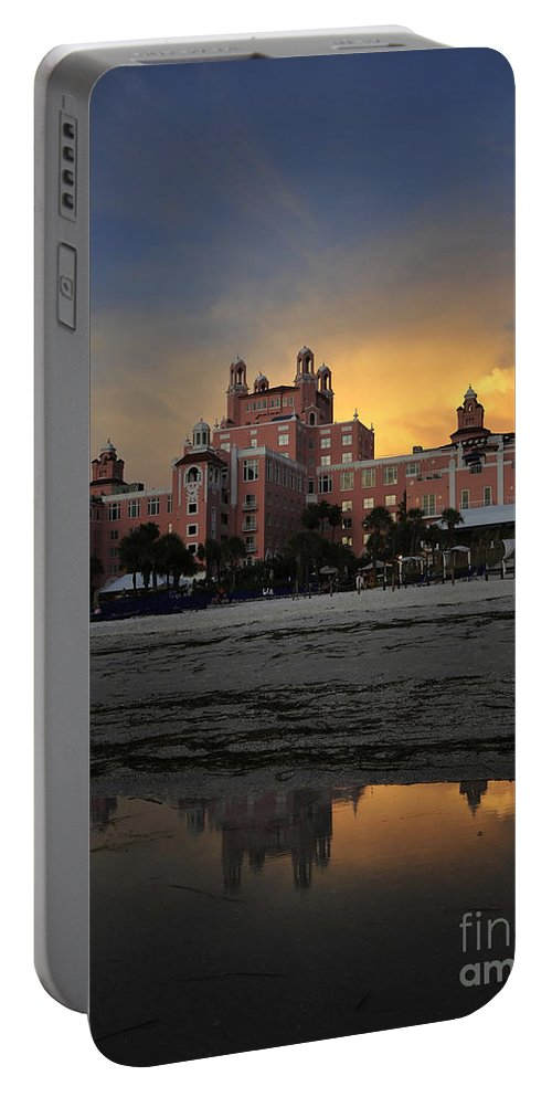 Fine Art Photography Portable Battery Charger featuring the photograph Summer At The Don by David Lee Thompson