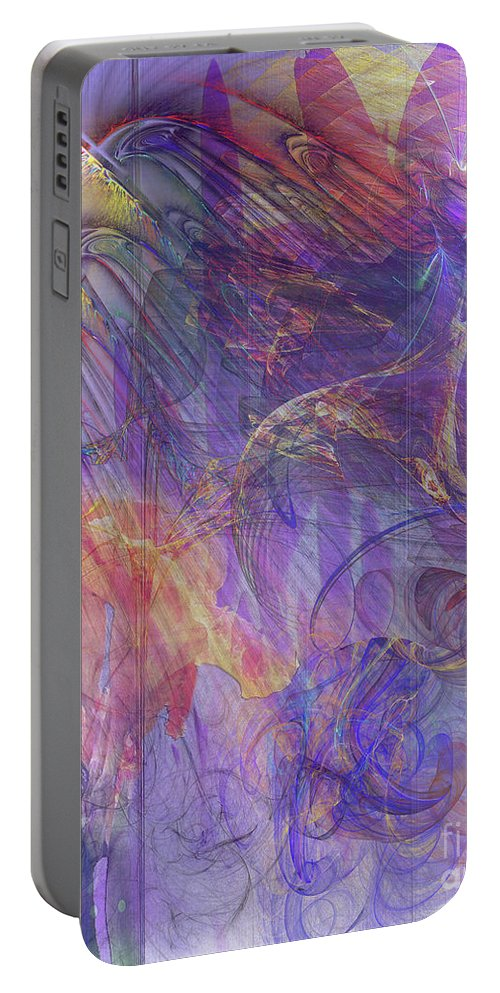 Summer Awakes Portable Battery Charger featuring the digital art Summer Awakes by John Beck