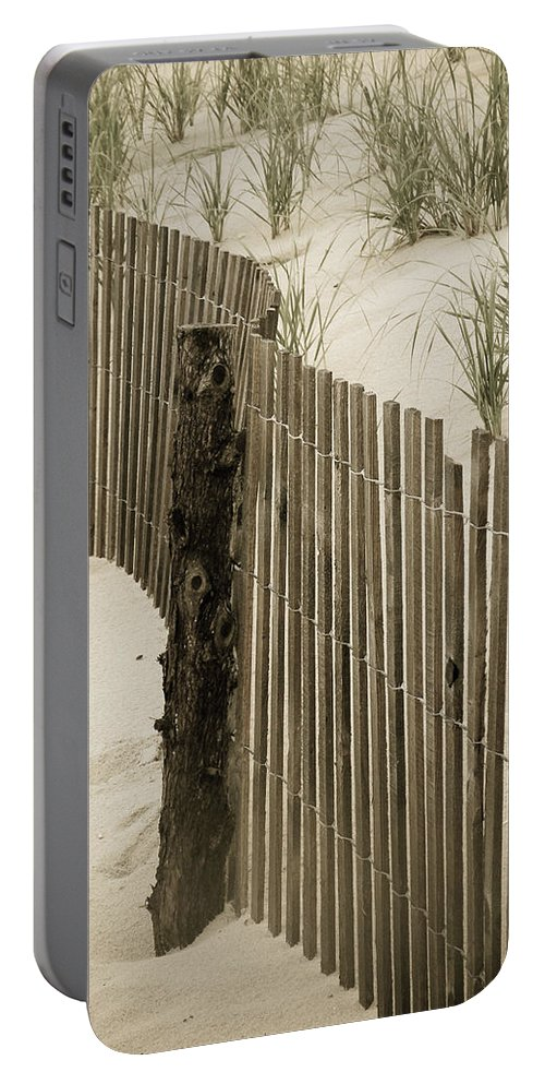 Beach Portable Battery Charger featuring the photograph Summer Dunes by Trish Tritz