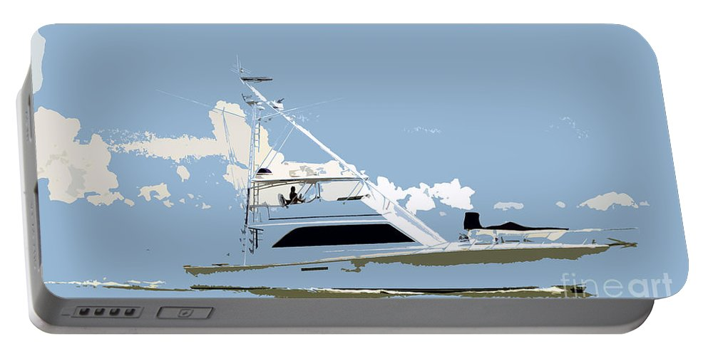 Boat Portable Battery Charger featuring the photograph Summer Freedom by David Lee Thompson