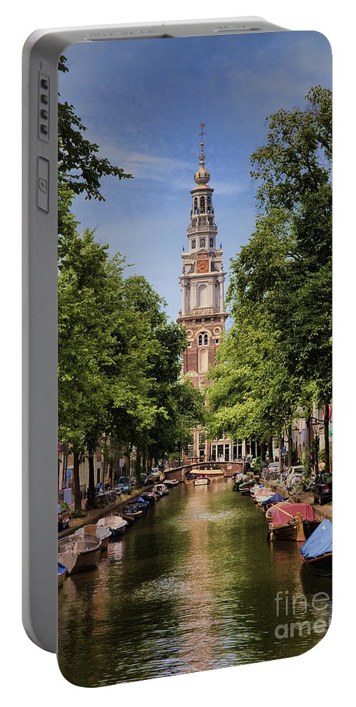 Portable Battery Charger featuring the photograph Summer In Amsterdam-2 by Casper Cammeraat