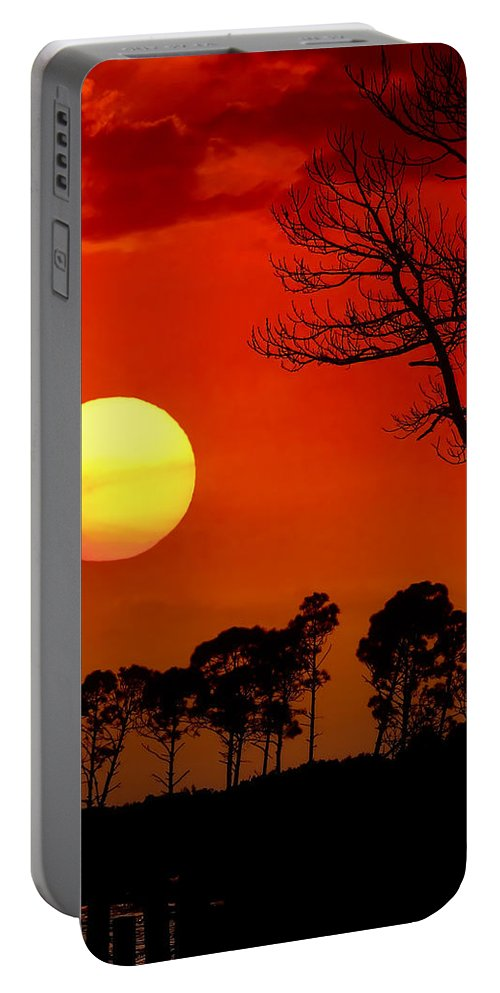 Fort Walton Beach Portable Battery Charger featuring the photograph Summer Nights by Janet Fikar