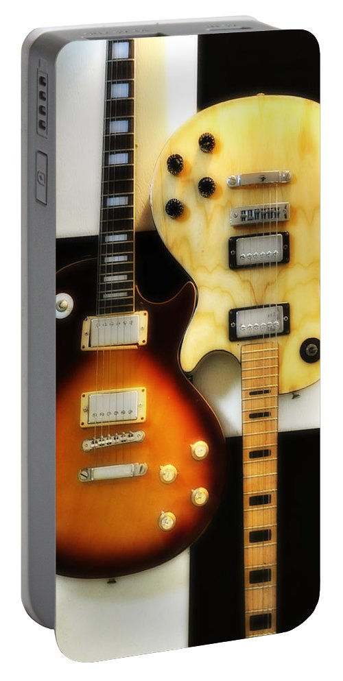 Les Paul Portable Battery Charger featuring the photograph Summer Of 69 by Bill Cannon