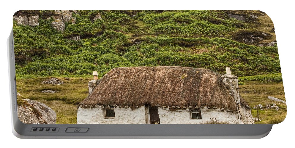 Scotland Portable Battery Charger featuring the photograph Summer Retreat by Colette Panaioti
