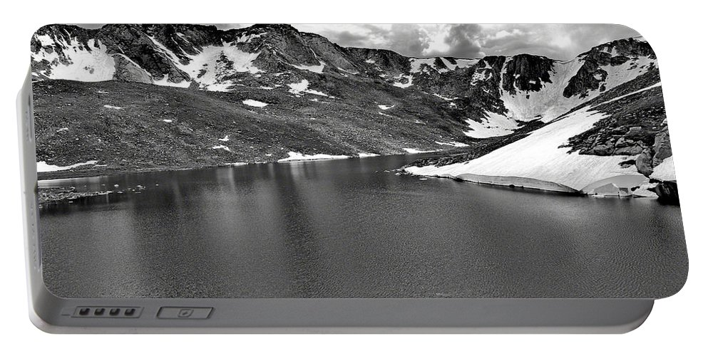 Summit Lake Portable Battery Charger featuring the photograph Summit Lake Study 6 by Robert Meyers-Lussier