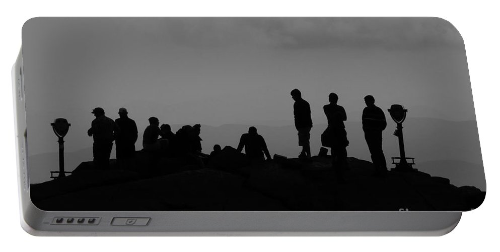 Summit Portable Battery Charger featuring the photograph Summit People by David Lee Thompson