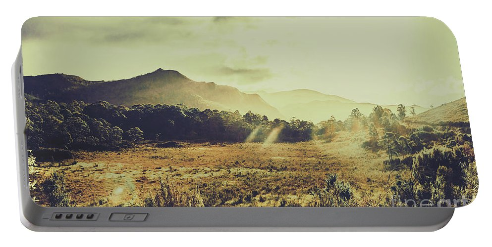 Nature Portable Battery Charger featuring the photograph Sun Bleached Australia by Jorgo Photography - Wall Art Gallery