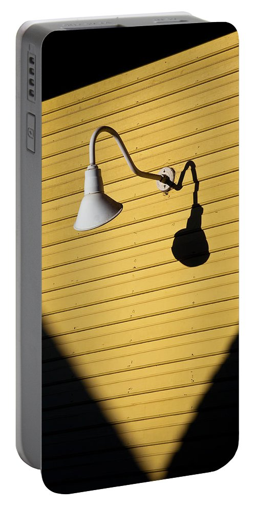 Sunlamp Portable Battery Charger featuring the photograph Sun Lamp by Dave Bowman