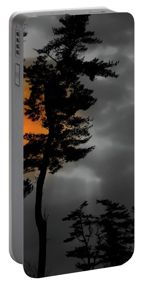 Wyomissing Portable Battery Charger featuring the photograph Sun Over Spring Ridge by Trish Tritz