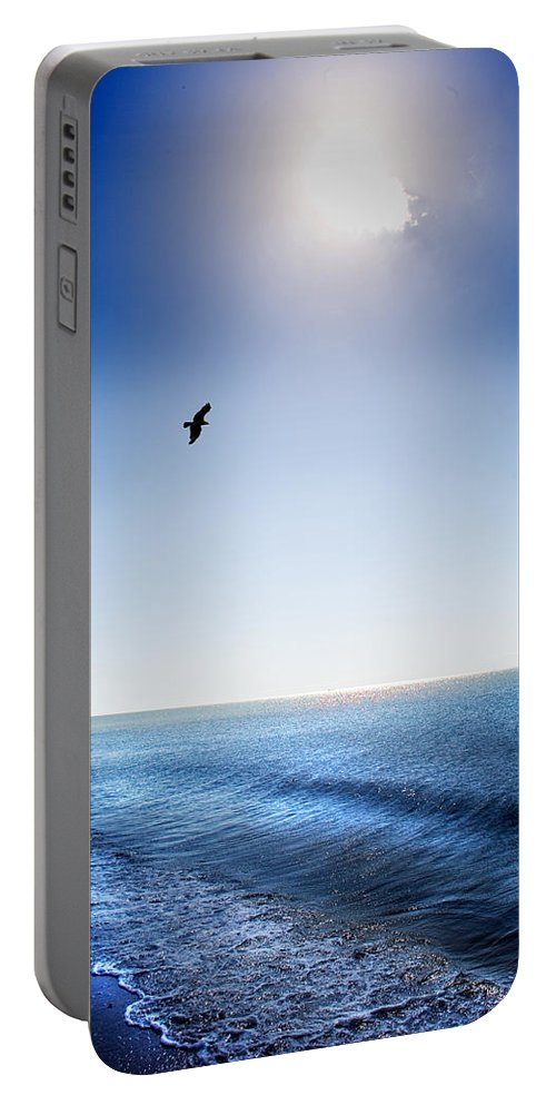 Sun Portable Battery Charger featuring the photograph Sun Shade by Mal Bray