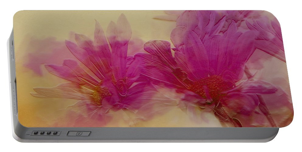 Flowers Portable Battery Charger featuring the photograph Sundance by Linda Sannuti