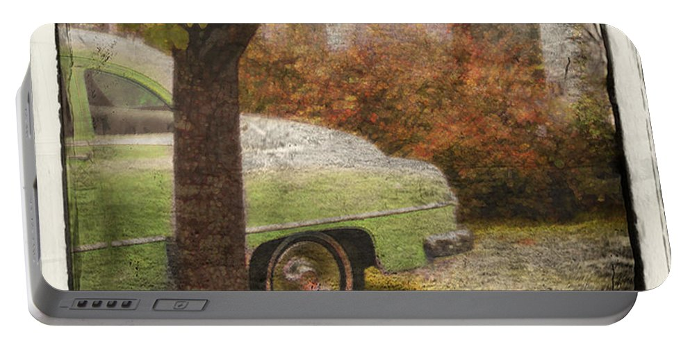 Cars Portable Battery Charger featuring the photograph Sunday Morning by John Anderson