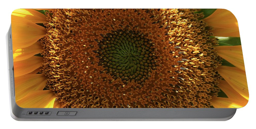Sunflower Portable Battery Charger featuring the photograph Sunflower by Marna Edwards Flavell