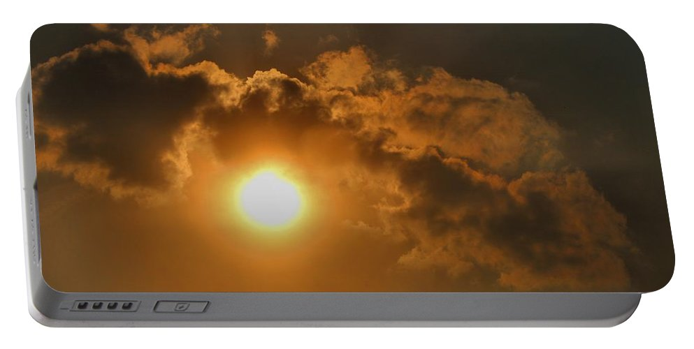 Sun Portable Battery Charger featuring the photograph Sunglow by Kathryn Meyer