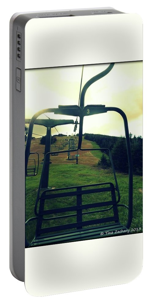 Portable Battery Charger featuring the photograph Sunny Lift by Tina Newcomb