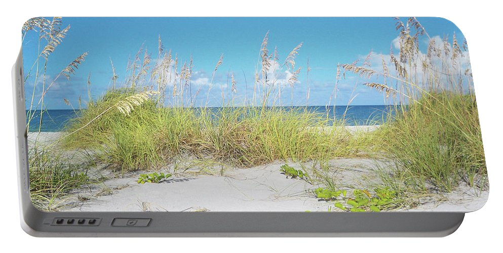 Florida Portable Battery Charger featuring the photograph Sunny Sanibel by Chris Andruskiewicz