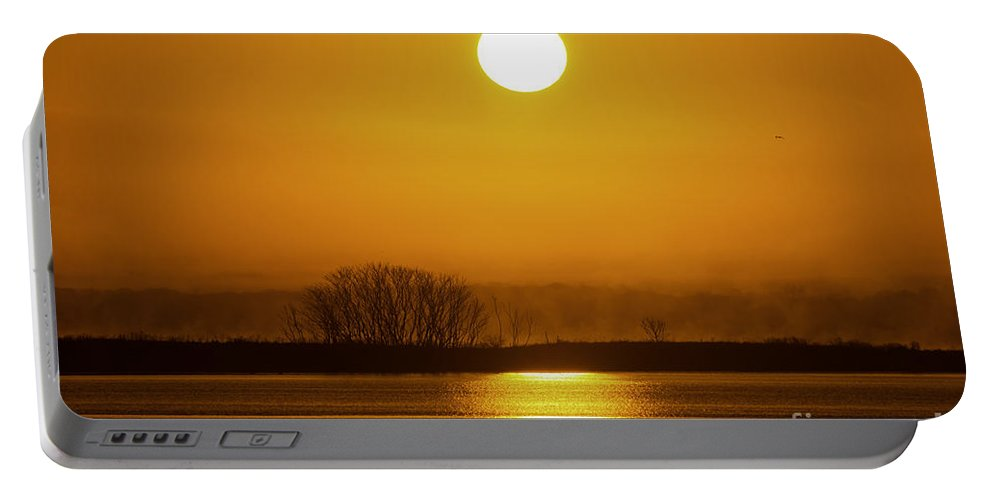 Borough Portable Battery Charger featuring the photograph Sunny Skies by Joe Geraci