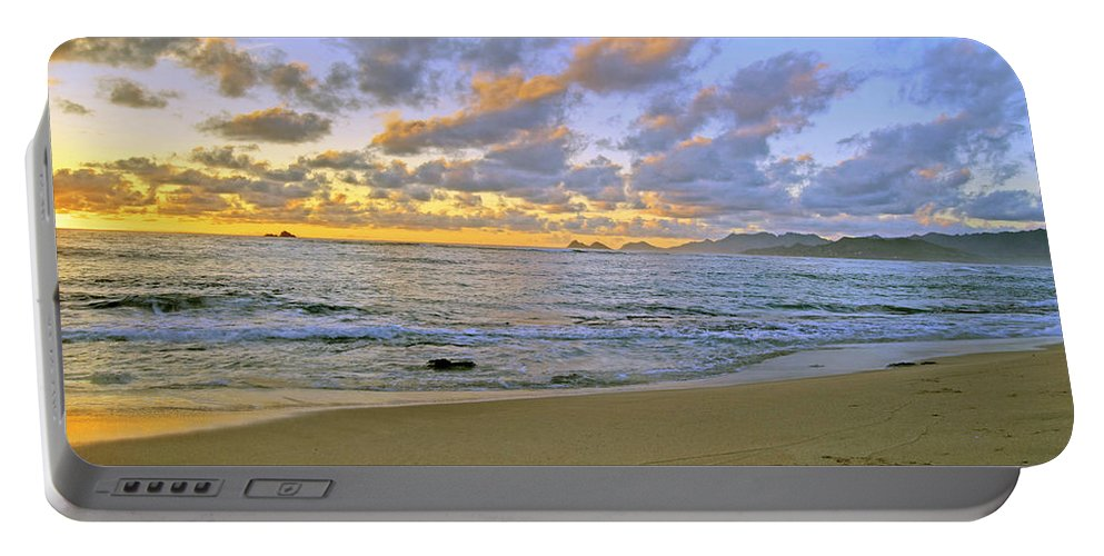 Landscape Portable Battery Charger featuring the photograph Sunrise 6901 by Michael Peychich