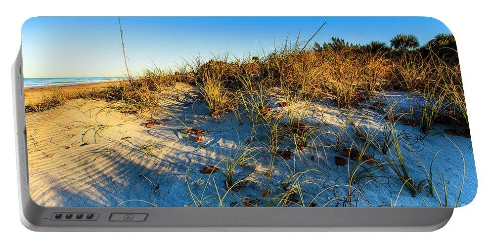 Manasota Beach Portable Battery Charger featuring the photograph Dawn At Manasota Beach by Ben Graham