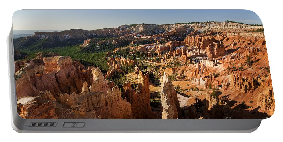 Sunrise At Sunrise Point Portable Battery Charger featuring the photograph Sunrise At Sunrise Point by Yefim Bam