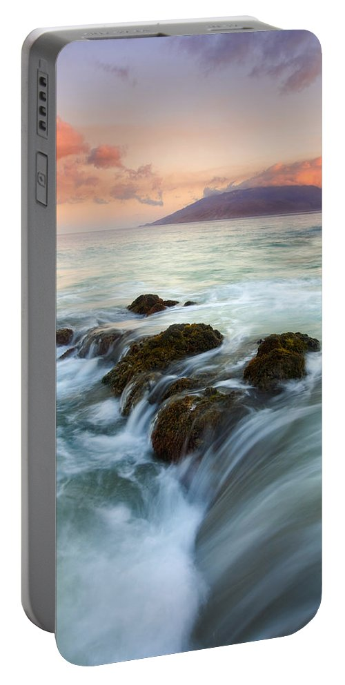 Sunrise Portable Battery Charger featuring the photograph Sunrise Drain by Mike Dawson