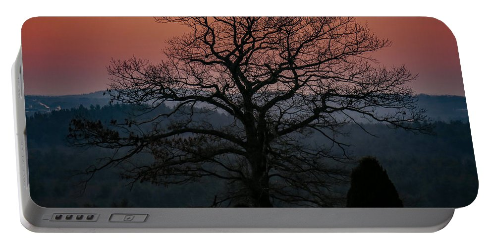 Sunrise Portable Battery Charger featuring the photograph Sunrise From Bolton Ma by Ronald Raymond