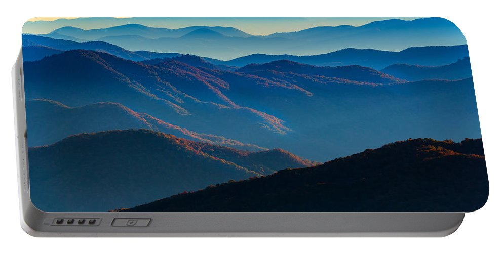 Great Smoky Mountains National Park Portable Battery Charger featuring the photograph Sunrise In The Smokies by Rick Berk