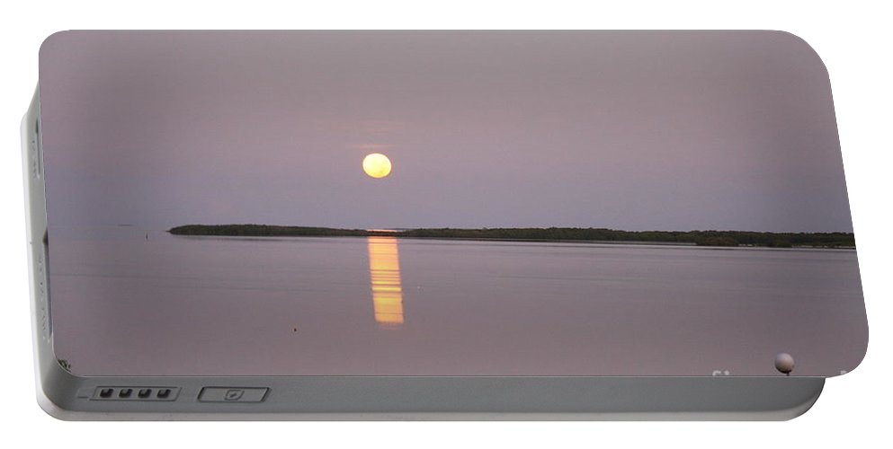 Sun Portable Battery Charger featuring the photograph Sunrise Key Largo by Christiane Schulze Art And Photography