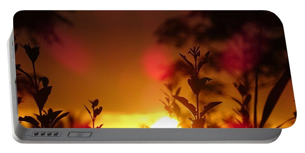 Sunrise Portable Battery Charger featuring the photograph Sunrise by Maximilian Weber